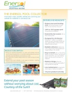 Enersol Collector Specification Sheet